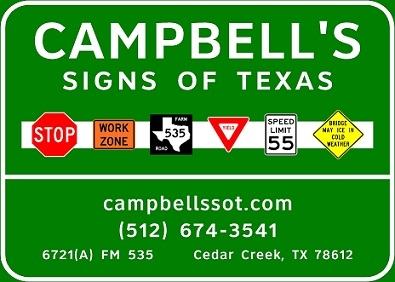 Campbell's Signs of Texas